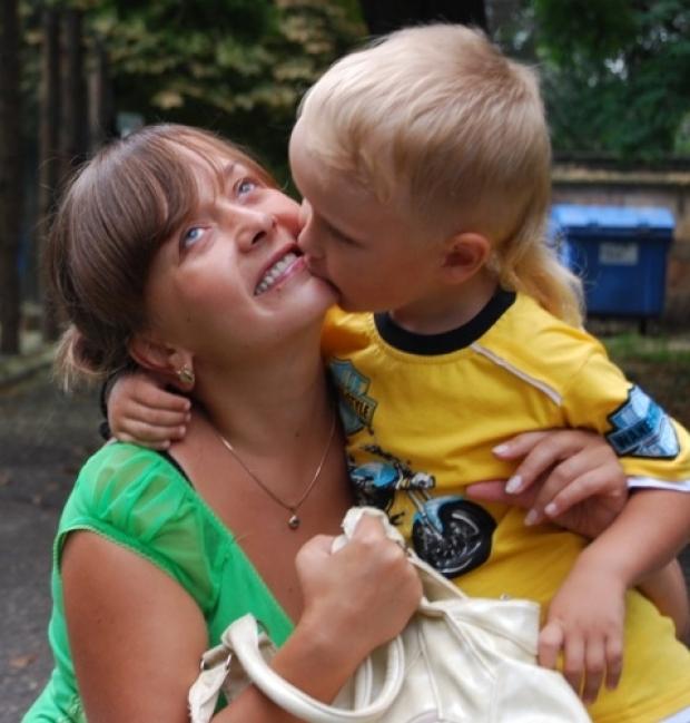 Так вот оно-счастье быть мамою сына!