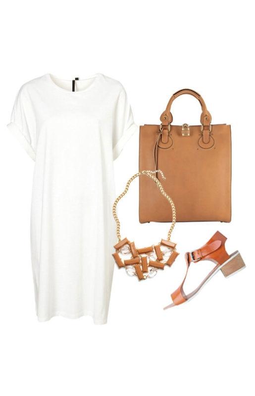 Сандалии - это своеобразная аллюзия на давние времена. Если надеть маленькое белое платье или такую длинную белую футболку вместе с коричневыми сандалиями, можно перевоплотиться в настоящую древнегреческую богиню.