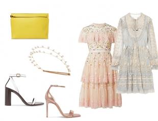 Кружевное платье — комбинируем с обувью и аксессуарами