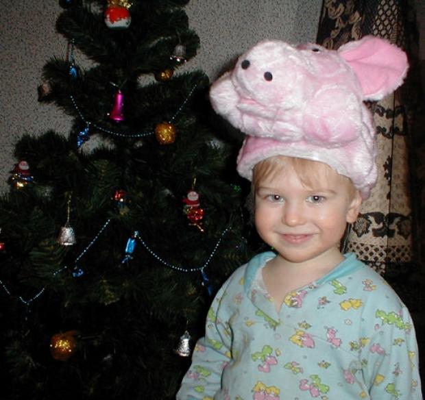 А я маленькая свинка :)