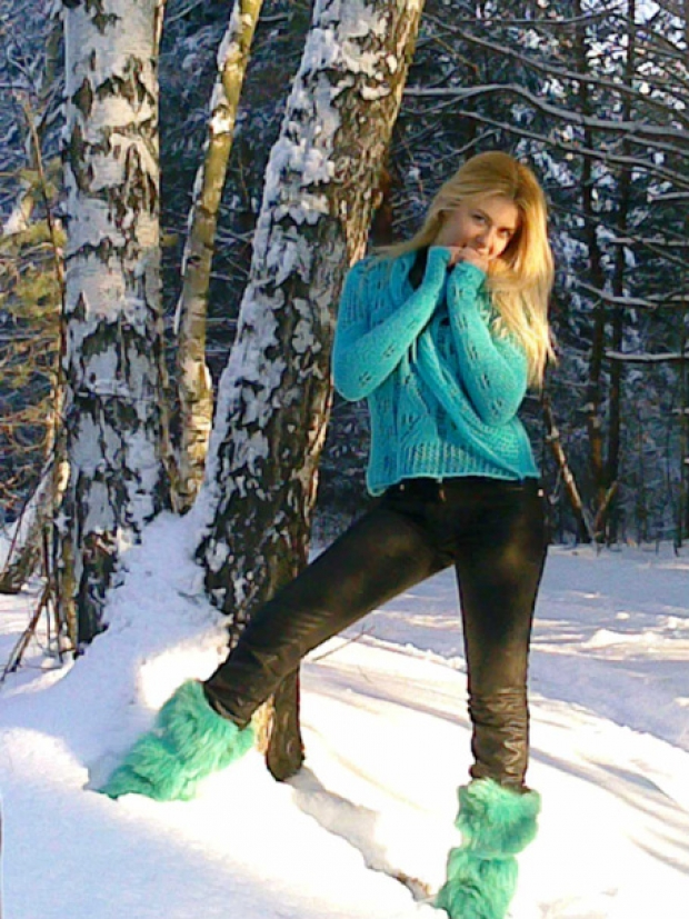 зима))