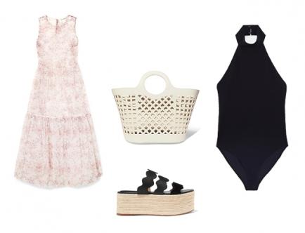 Есть множество вариаций использования боди и слитного купальника в летнем гардеробе. Например, боди можно надеть вместо белья под прозрачное платье. Дополнить босоножками на платформе и летней сумочкой. Вуаля — образ для отпуска.