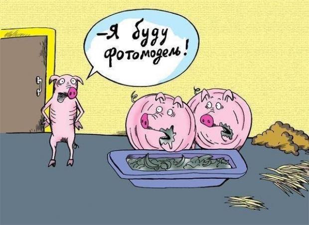 Не все худые могут быть фотомоделями)))