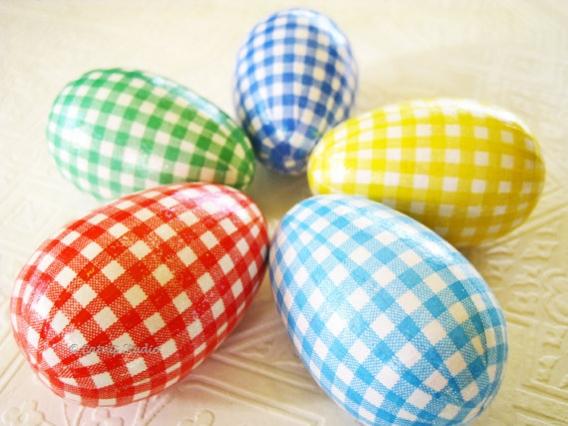 Красиво покрасить яйца к пасхе