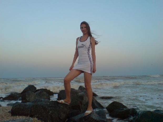 Я на Азовском море.( лето 2008)