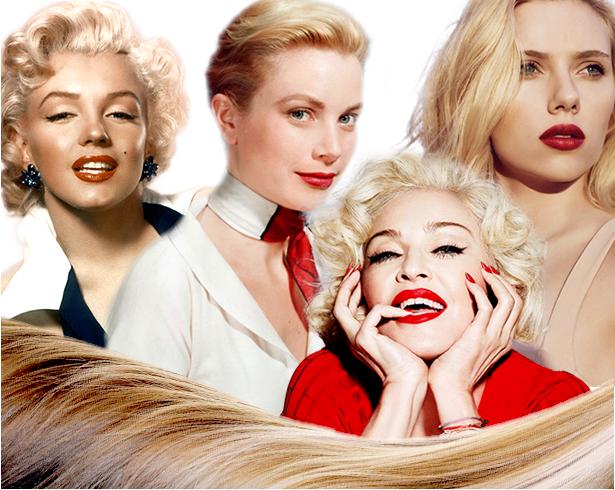 Перекраситься в блондинку
