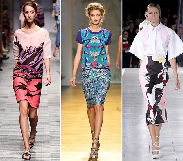 Модные принты сезона весна-лето 2014 - фото №5