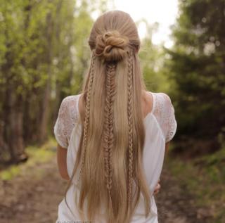 плетение косы игры престолов