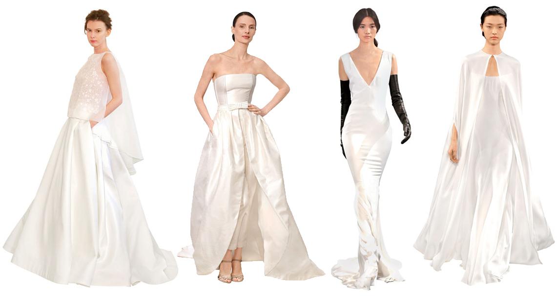 Модные свадебные платья весны-лета 2014 - фото №1