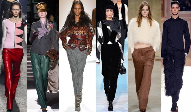 Модные брюки сезона осень-зима 2013-2014 - фото №7
