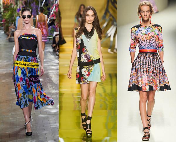 Модные платья сезона весна-лето 2014 - фото №5
