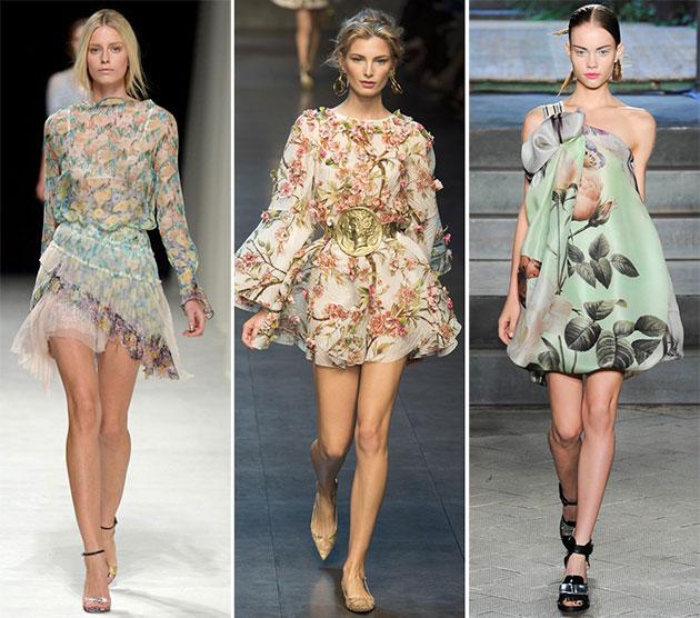 Модные принты сезона весна-лето 2014 - фото №1