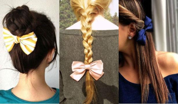 Идеи использования аксессуров для волос - фото №4