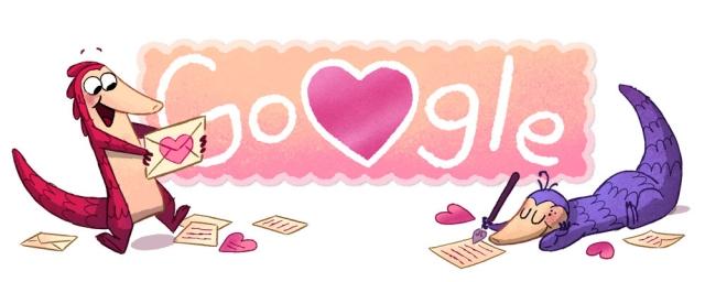 Гугл выпустил новый дудл-игру в честь Дня святого Валентина 2017 - фото №1