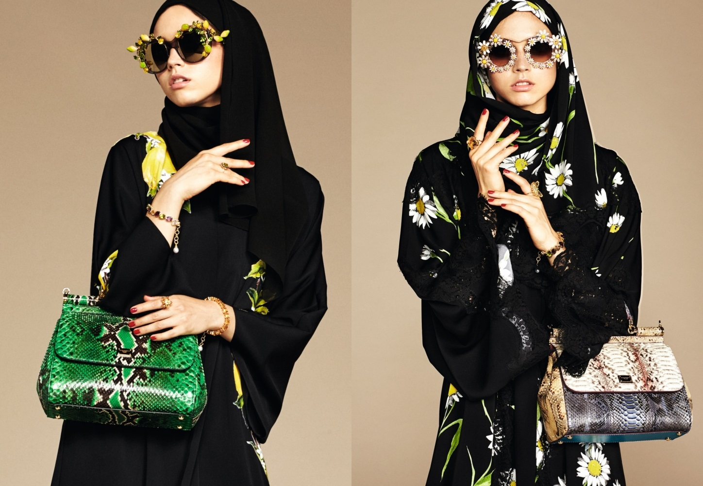 дольче габбана хиджаб фото
