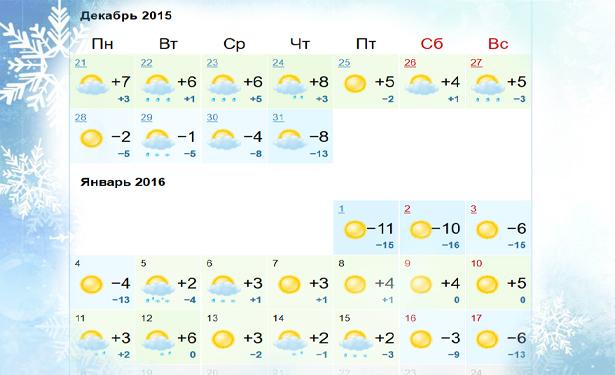 Какой будет погода на Новый Год 2016 в Украине - фото №5