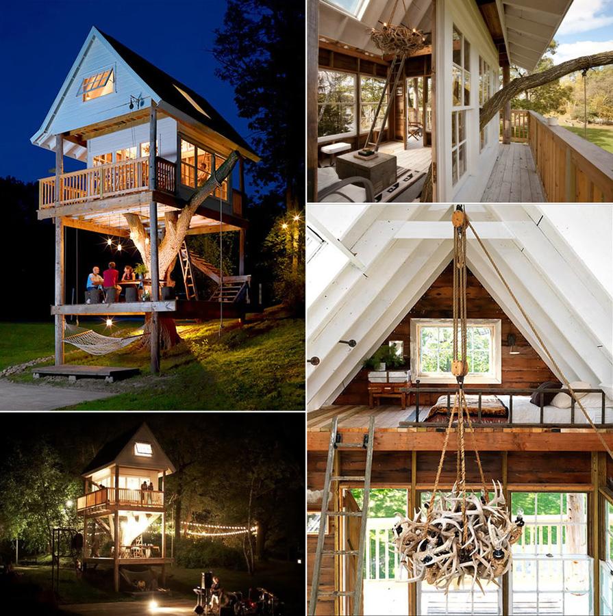 Можно ли жить на дереве: 3 дома-гнезда - фото №5