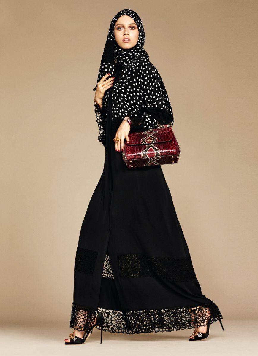 дольче и габбана хиджаб фото