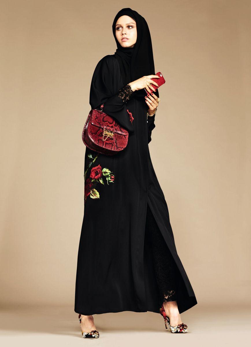 одежда для мусульманок дольче и габбана фото