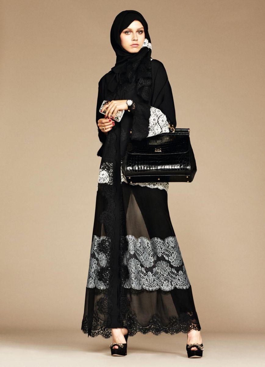 дольче габбана хиджаб