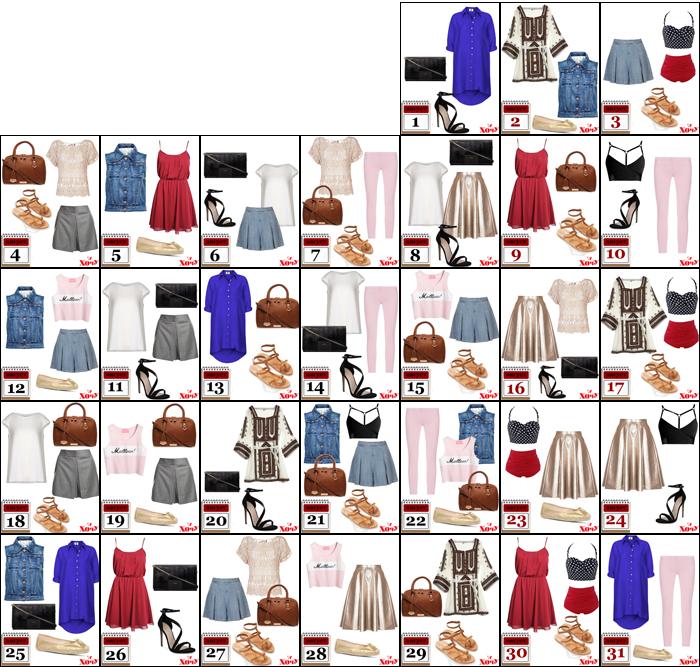 Капсульный гардероб на август - фото №2