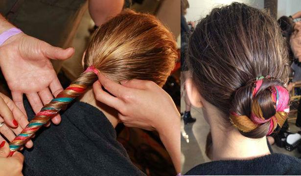 Идеи использования аксессуров для волос - фото №6