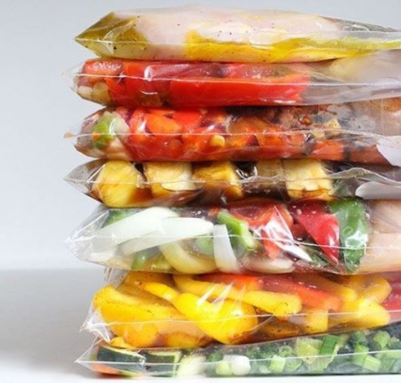 Лето можно заморозить - в перце, кабачках и других овощах