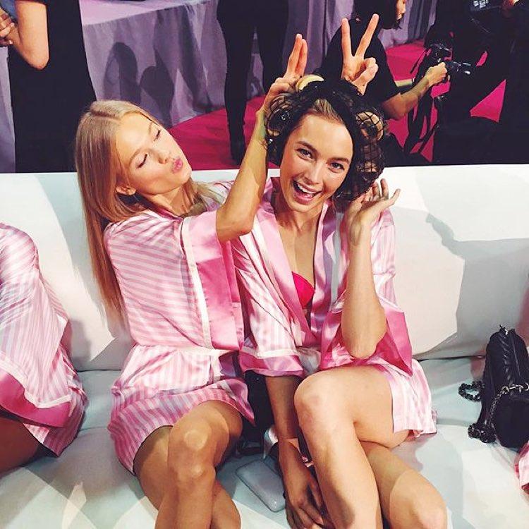 Бэкстейдж Victoria's Secret 2015