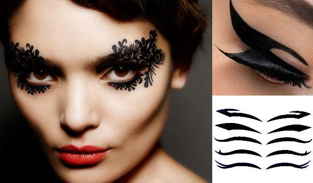 Декоративные наклейки для макияжа: обзор новинок - фото №2