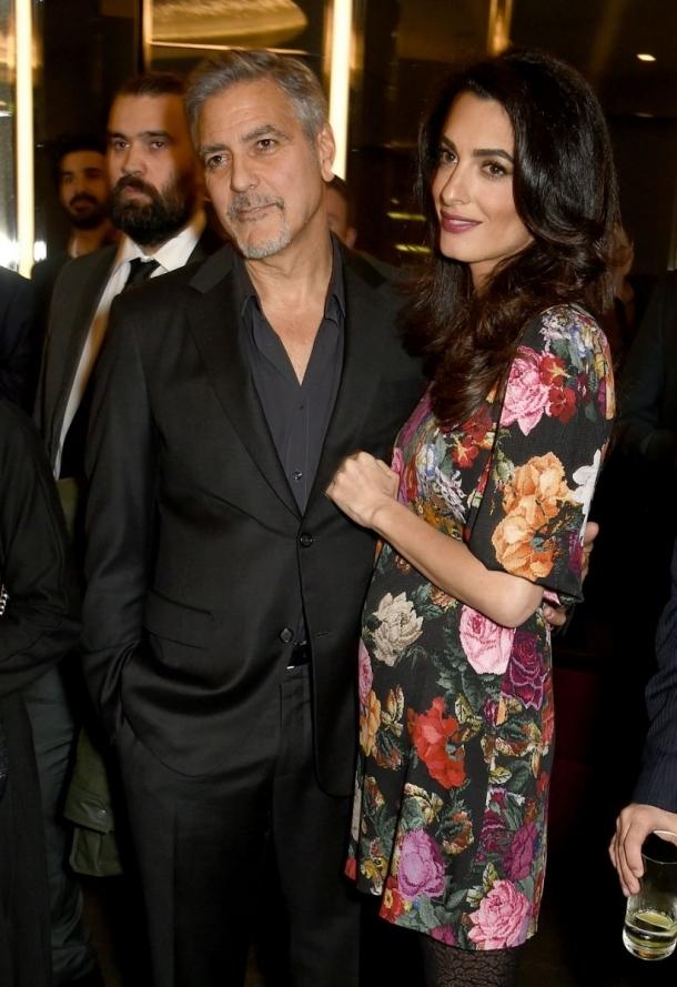 Официально: Джордж Клуни рассказал о будущей двойне и назвал дату родов - фото №2