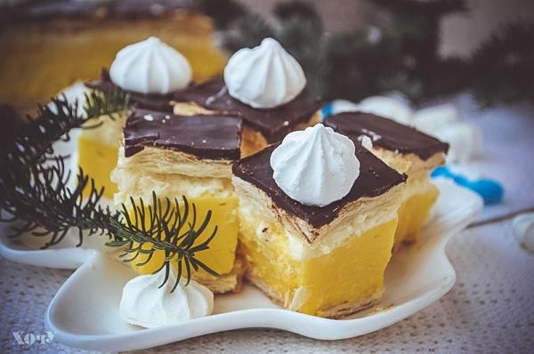 как готовить пирожное с заварным кремом рецепт