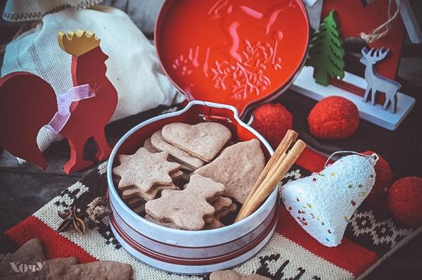 рождественское печенье рецепт и фото