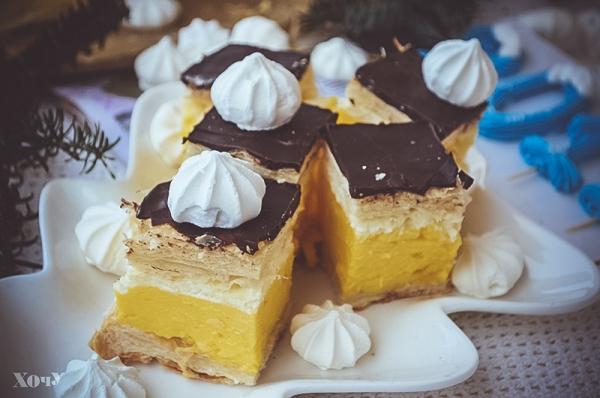 пирожное с заварным кремом приготовление