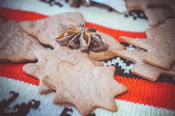 рождественское печенье как готовить дома