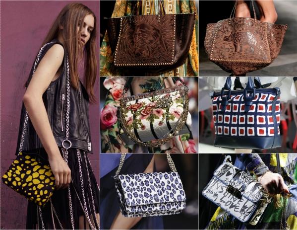 модные сумки весна лето