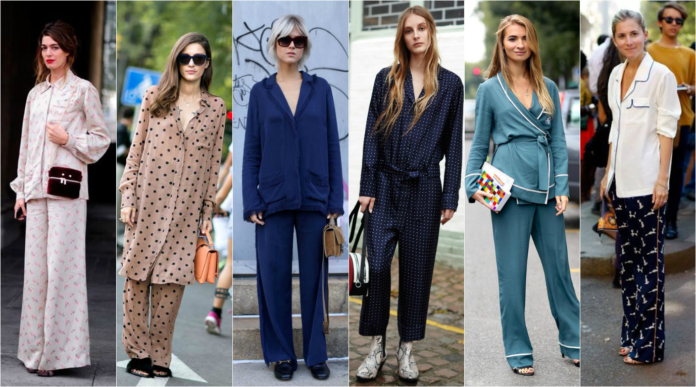 пижама модный тренд 2016