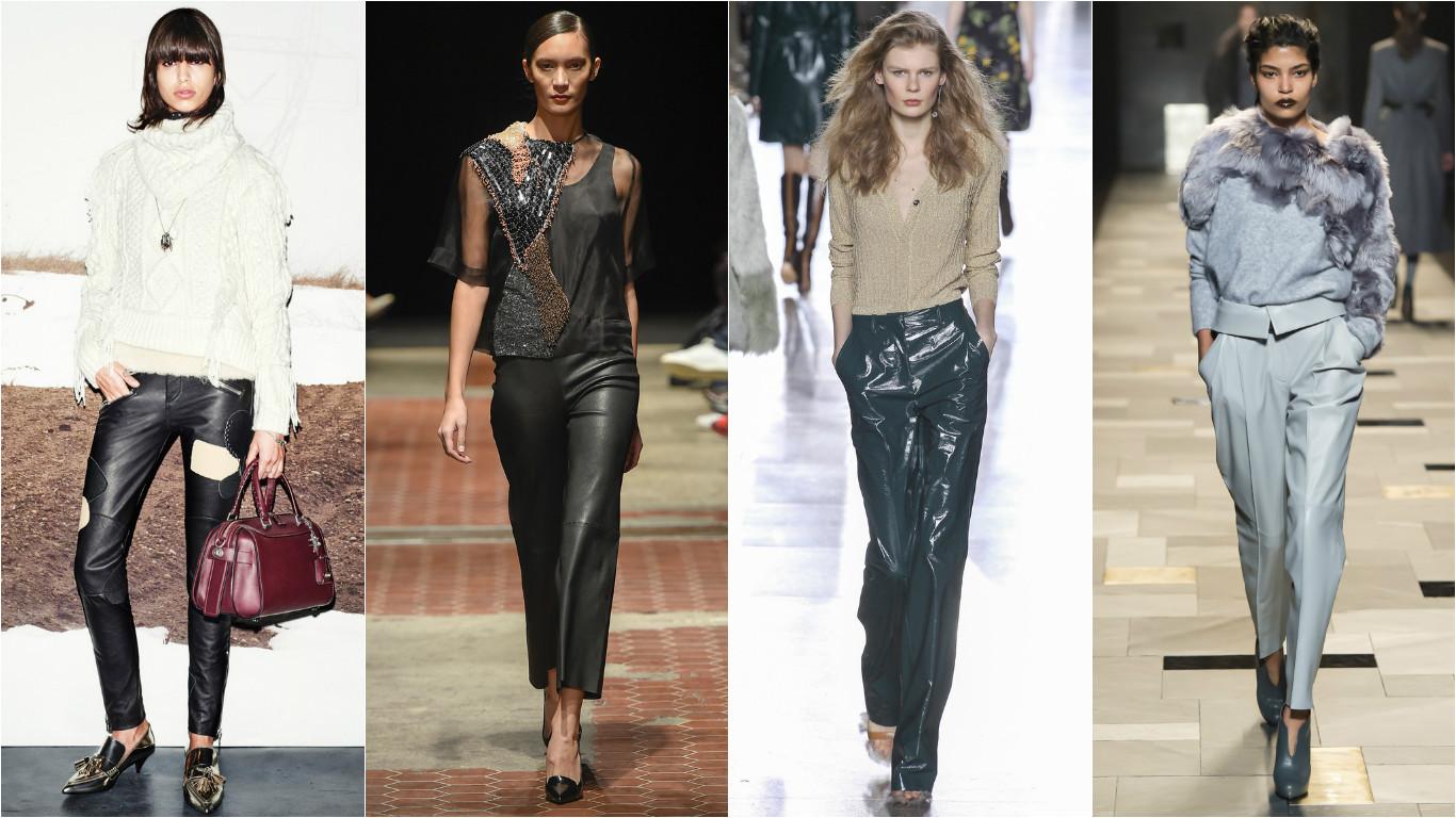 Женские брюки на зиму 2015-2016