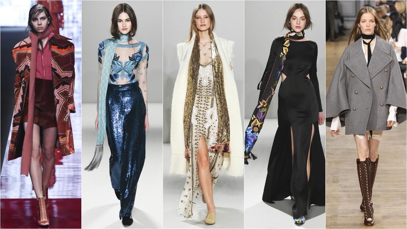 Как завязать шарф. Модные тренды 2015