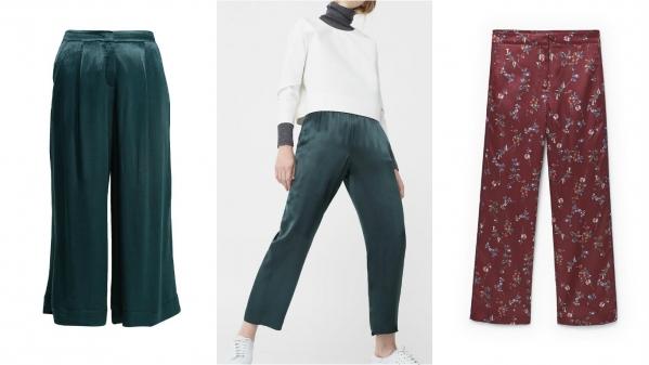 пижамный стиль брюки