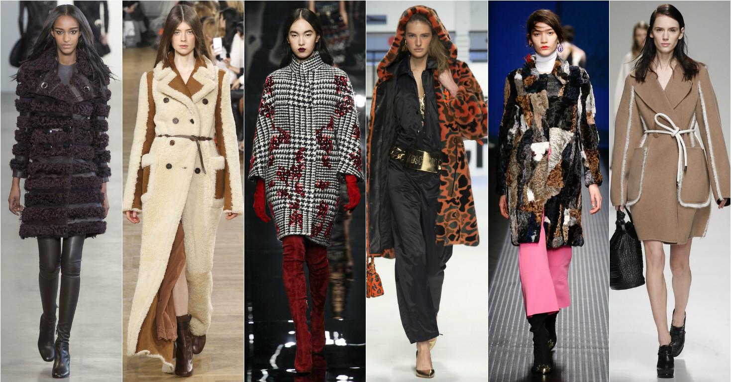 Модное зимнее пальто 2015-2016