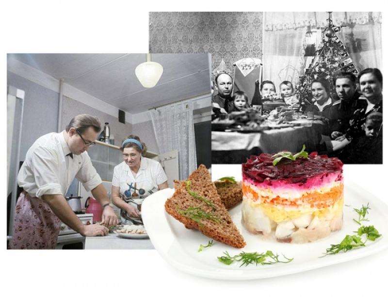 Новый год за 100 лет: как появились главные советские деликатесы новогоднего стола