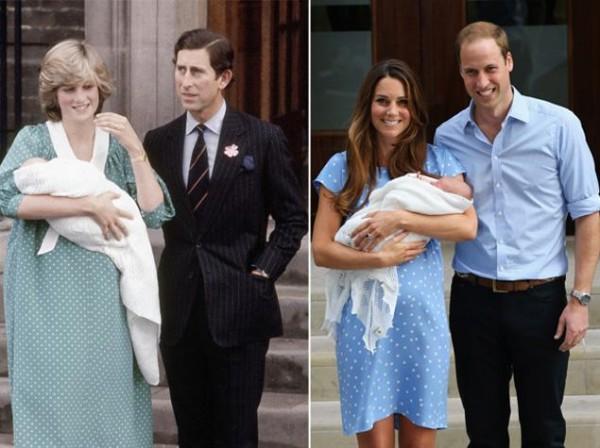 Как выглядит герцогиня после родов: Кейт Миддлтон и новорожденная принцесса выписаны с роддома - фото №1