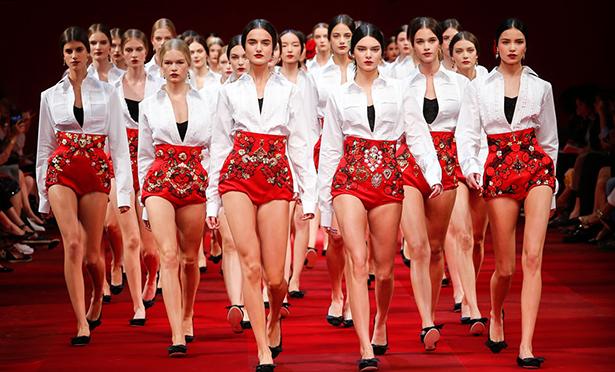 Неделя моды в Милане: Dolce & Gabbana, весна-лето 2015 - фото №2