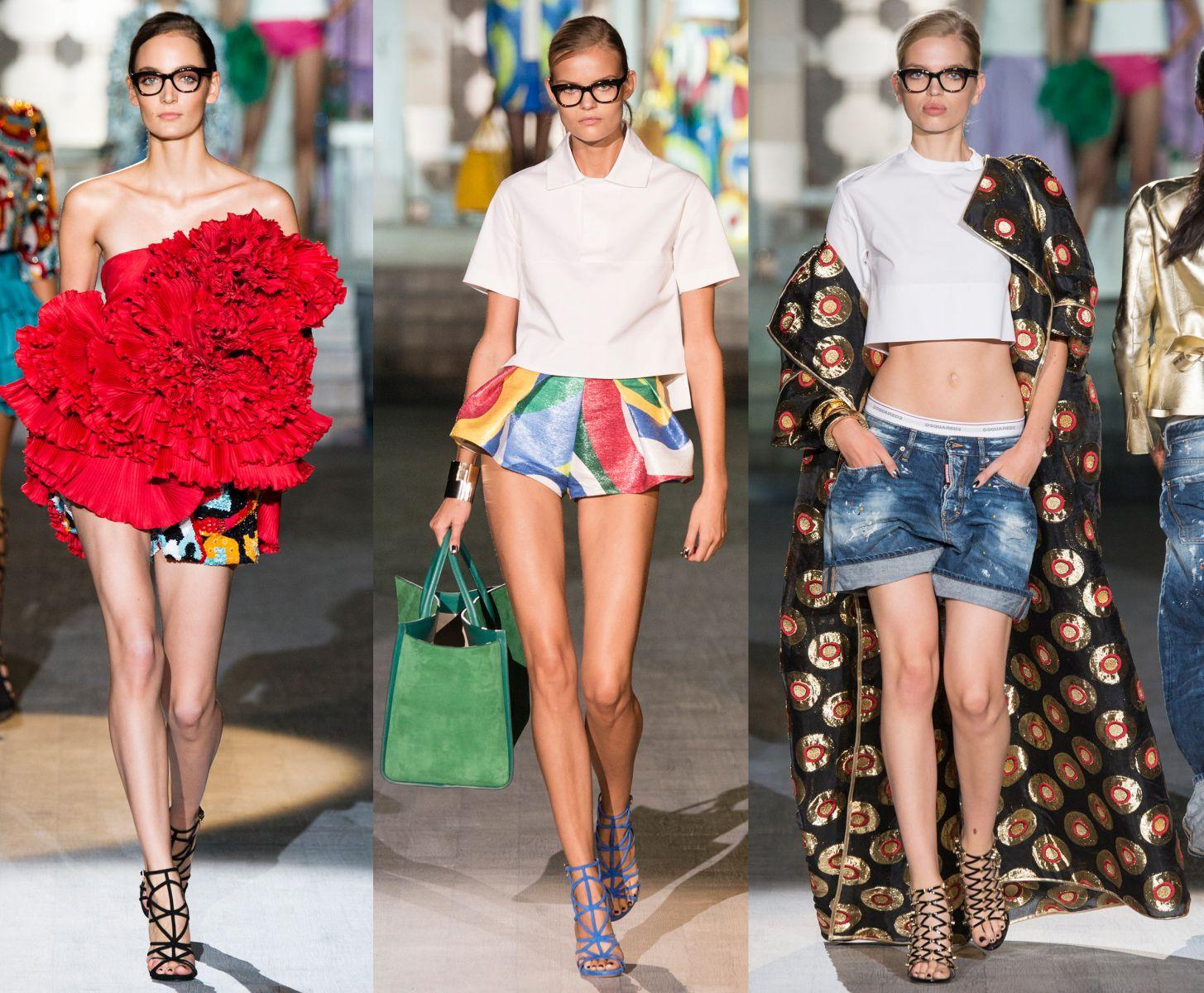 Неделя моды в Милане: Dsquared², весна-лето 2015 - фото №1