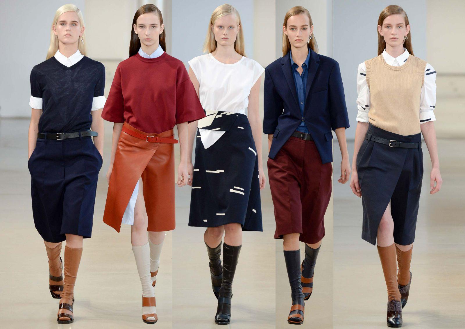 Неделя моды в Милане: Jil Sander, весна-лето 2015 - фото №1