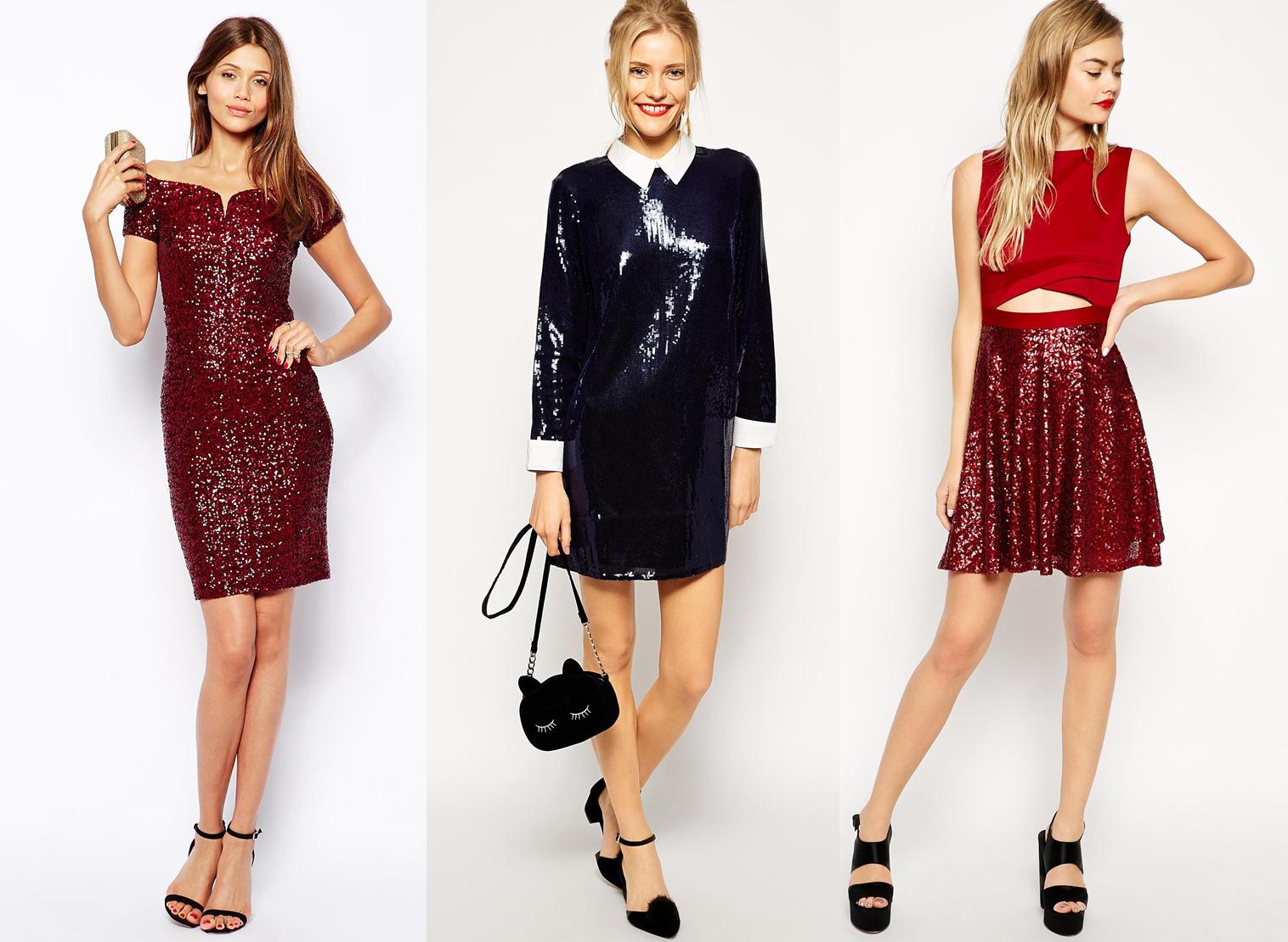 Где купить платье с пайетками - фото №1