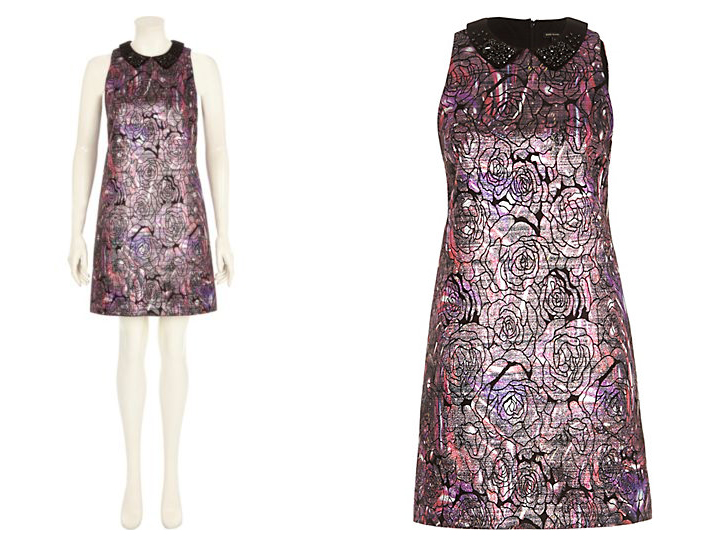 Платье из жаккарда Miu Miu - фото №2