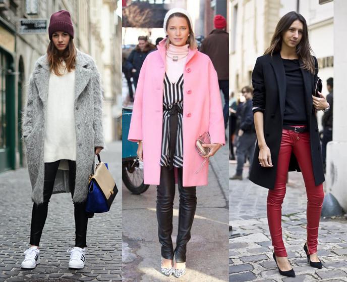 Как носить кожаные брюки и не выглядеть брутально - фото №2