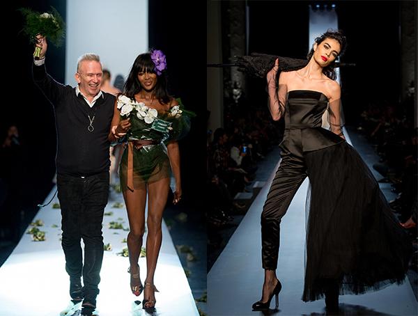Неделя высокой моды в Париже: Jean Paul Gaultier, весна 2015 - фото №1