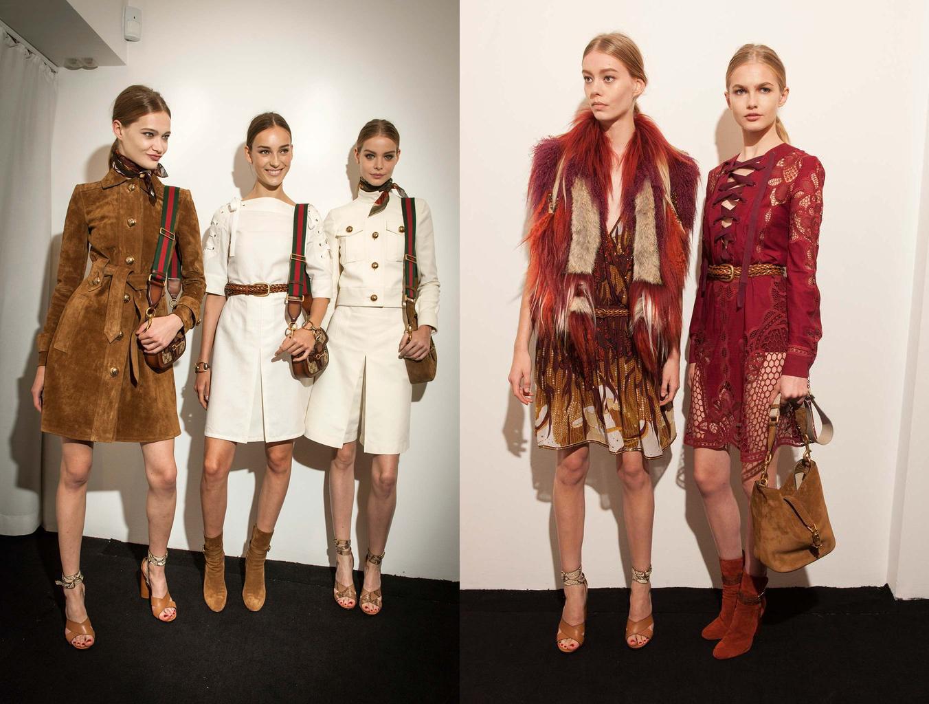 Неделя моды в Милане: Gucci, весна-лето 2015 - фото №2